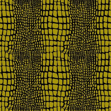 Reptiel huid naadloze patroon Vector Illustratie