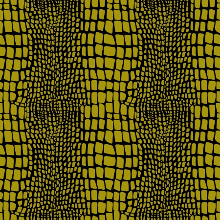 currying: Reptile skin seamless pattern