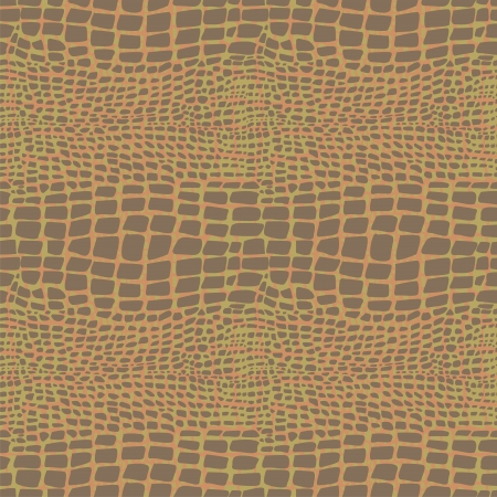 alligator: Reptile skin seamless pattern