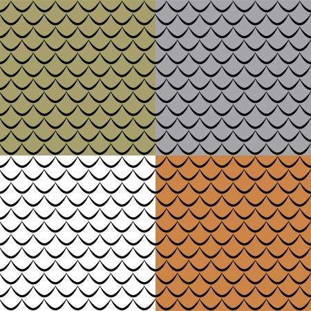 scales of fish: Las escalas de pescados patrón transparente