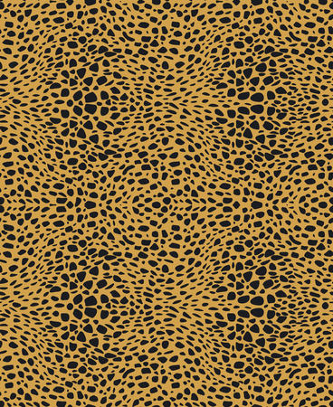 Vector animal fur seamless pattern  Illustration