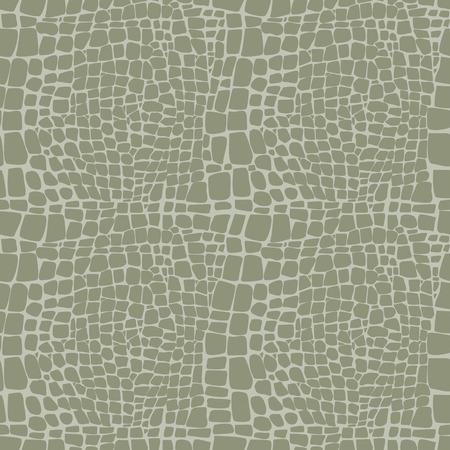 Reptile skin seamless vector pattern  Vector