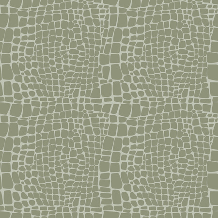 snakeskin: Reptile skin seamless vector pattern  Illustration