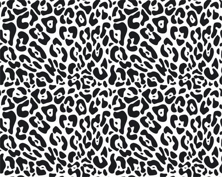 print: Vector nahtlose Tierfell-Muster