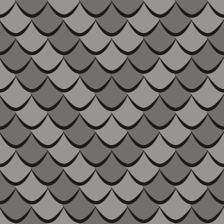gray scale: Snake skin seamless pattern