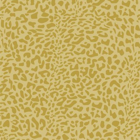 Leopard print seamless vector pattern