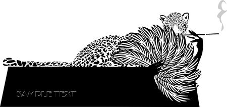 fatale: Fashion Portrait of Leopard Woman