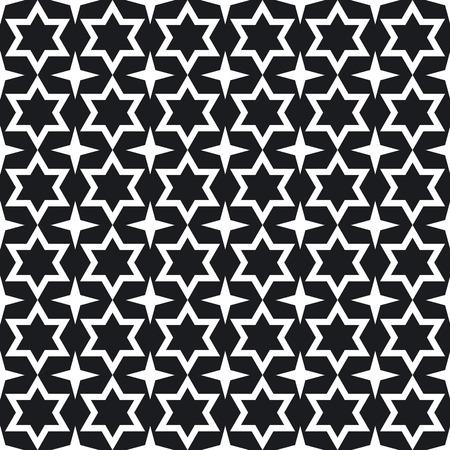 Stars, seamless pattern  photo