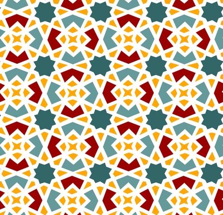 이슬람 스타일의 원활한 패턴