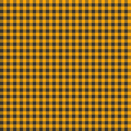 grey pattern: Seamless yellow and grey checkered tablecloth pattern