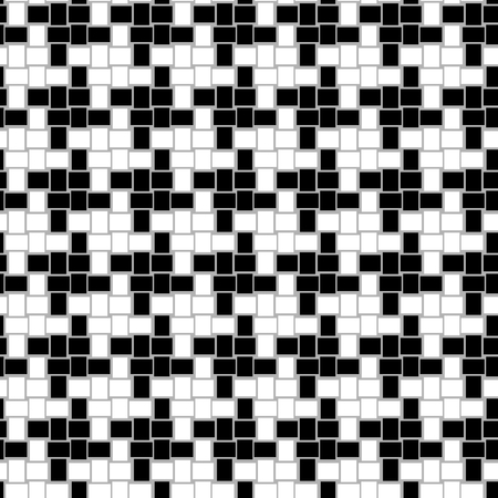 Houndstooth seamless vector pattern Vector