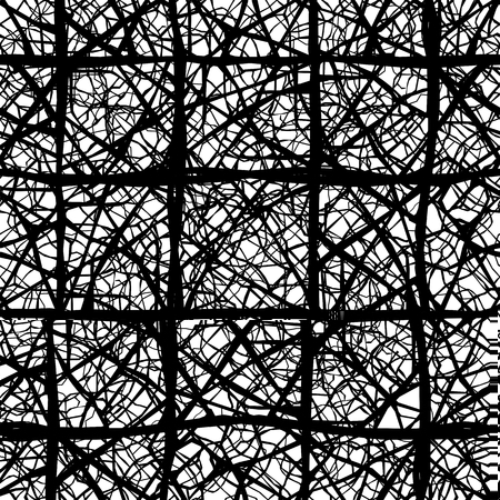 veins: Vector leaf veins seamless pattern texture
