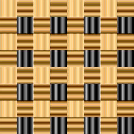 chequered drapery: Gingham seamless pattern Illustration