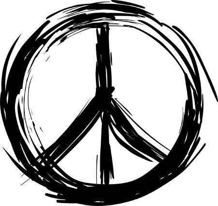 paz: Símbolo de paz Ilustração