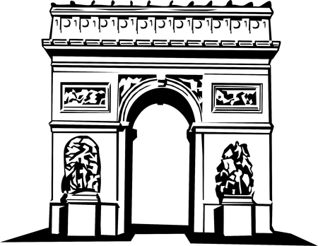 triumphal: The Triumphal Arch Illustration