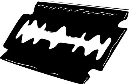 blade: Razor blade icon
