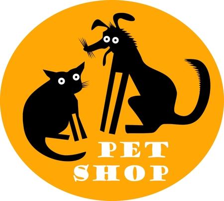 fart: Pet shop icon Illustration