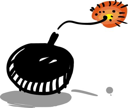 bomb: Funny cartoon bomb