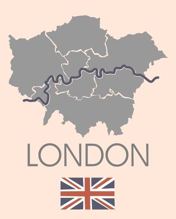 London administrative map