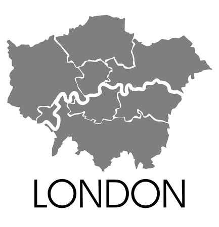enfield: London administrative map
