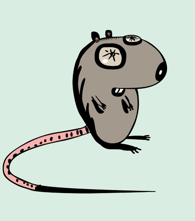 little one: Funny mouse Illustration