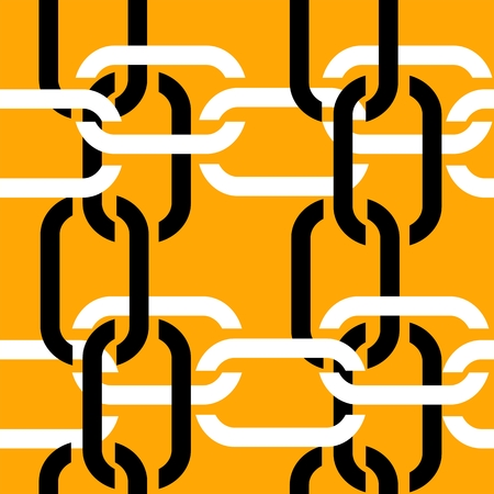 chainlink fence: Seamless chain pattern
