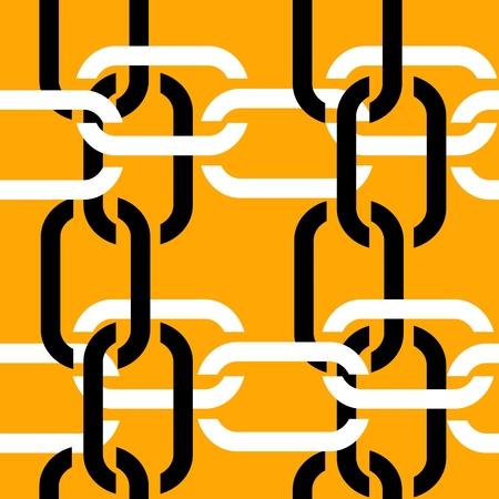 Seamless chain pattern