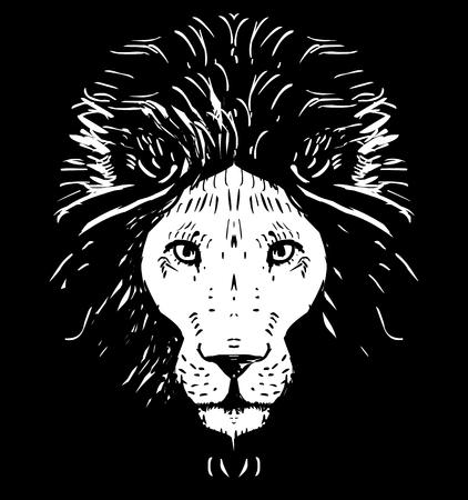 cruel zoo: Lion head