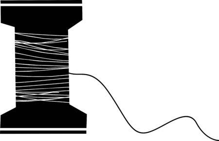 Thread vector icon