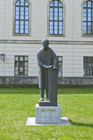 planck: Statue of Max Planck outside Humboldt University in Berlin, Germany