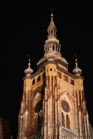 lightsome: Prague Castle at night