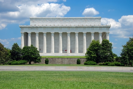 Lincoln Memorial in Washington DC photo