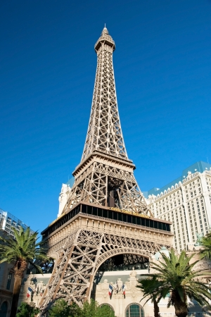 Eiffel Tower restaurant on the Las Vegas Strip Stock Photo - 19211373