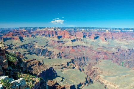 South Rim of Grand Canyon in Arizona photo