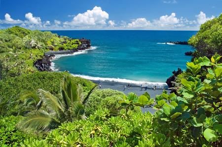 마우이 섬 하와이 낙원 스톡 콘텐츠