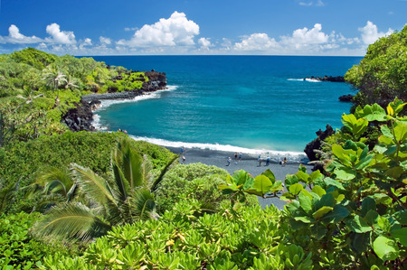 Hawaii paradise on Maui island Stock Photo - 28466738