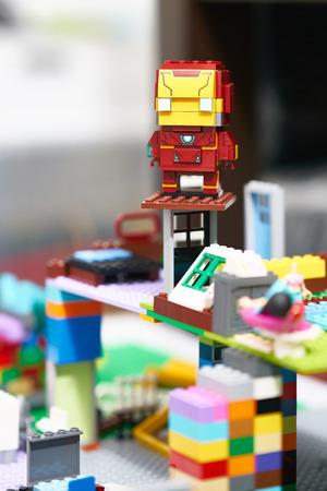 Bangkok,Thailand,19th May ,2018,Lego Ironman