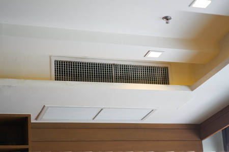 Air conditioning grille or hole