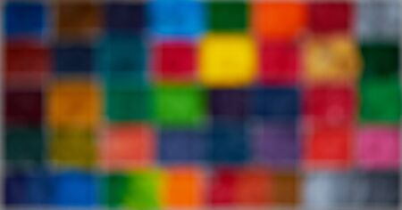 Blur square and pixel colorful display in abstract background in digital concept Stock fotó