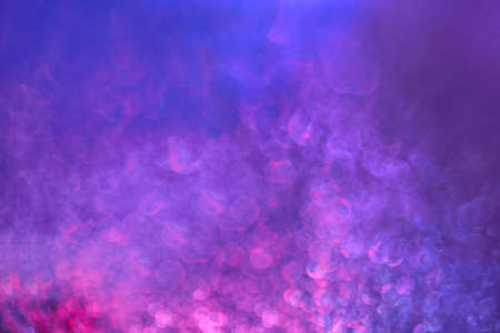 Abstract photo of blue and magenta colors with blur bokeh Reklamní fotografie