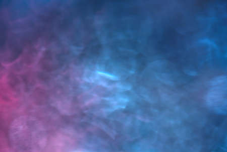 Abstract photo of blue and magenta colors