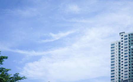sky scraper against sky,low angle view Reklamní fotografie