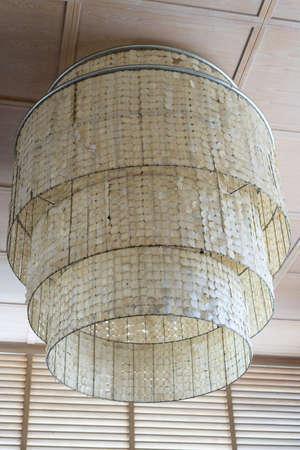 vintage style hang lamp on ceiling Reklamní fotografie