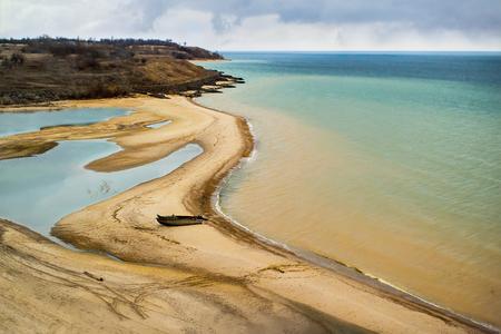 the coast of Tsimlyansk sea