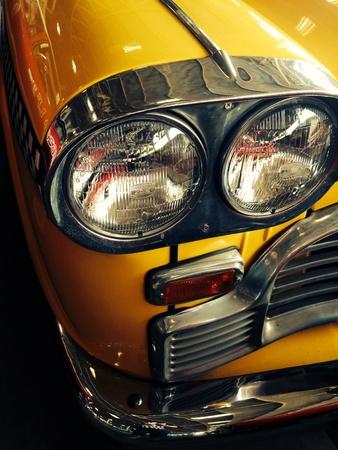shiny metal: Car light bulb
