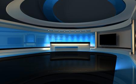 Bleu studio Banque d'images