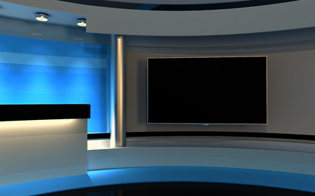 television set: Blue Studio