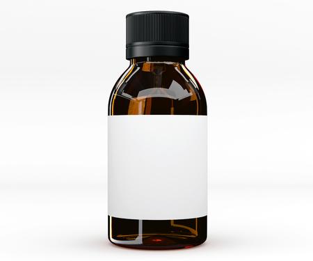 medicamento: frasco de comprimidos, la medicina