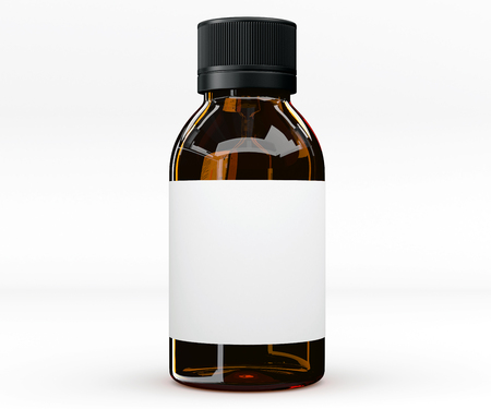 Tablet-Flasche, Medizin Standard-Bild