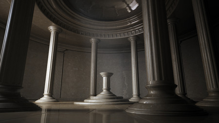 3d temple: ancient interior